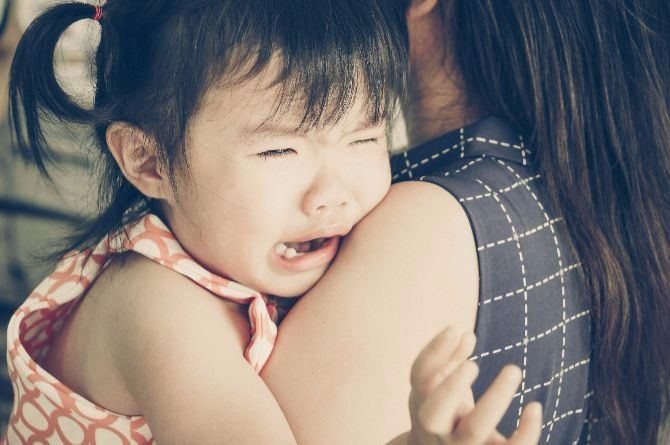 small girl crying Have you ever thought about how your child's formula milk is treated before your child takes it in?