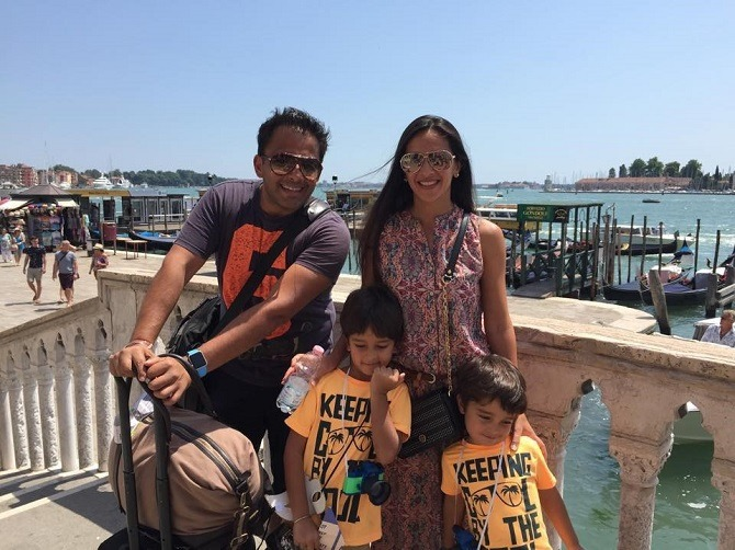 planning a holiday with kids