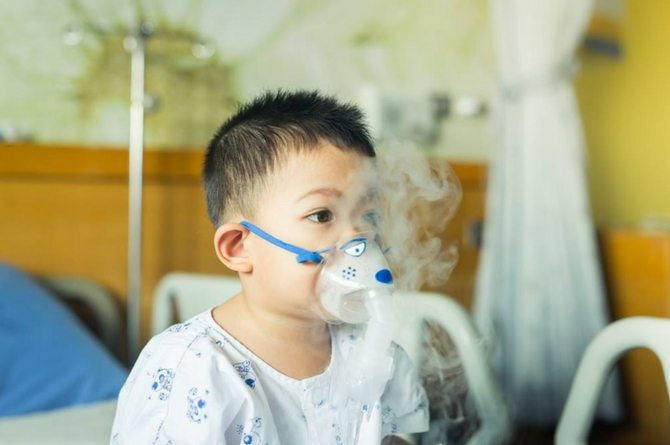 Bronchiolitis in kids