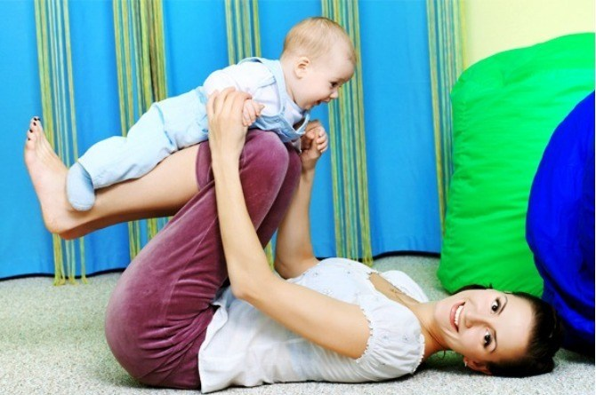 Exercises to strengthen your baby's muscles