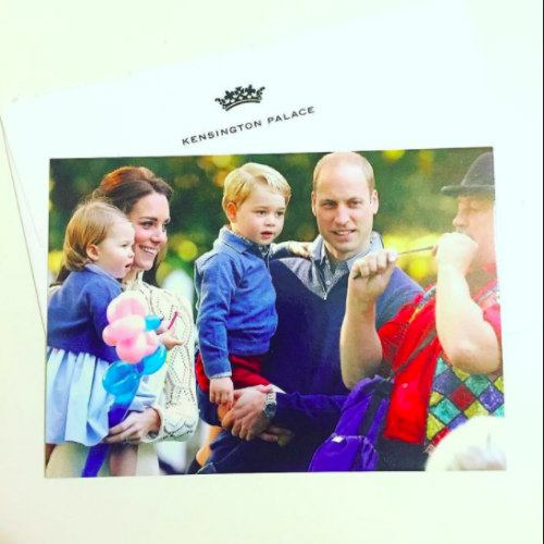 royal xmas 2016 Prince William and Kate Middleton's royal Xmas card with their kids is too charming for words!