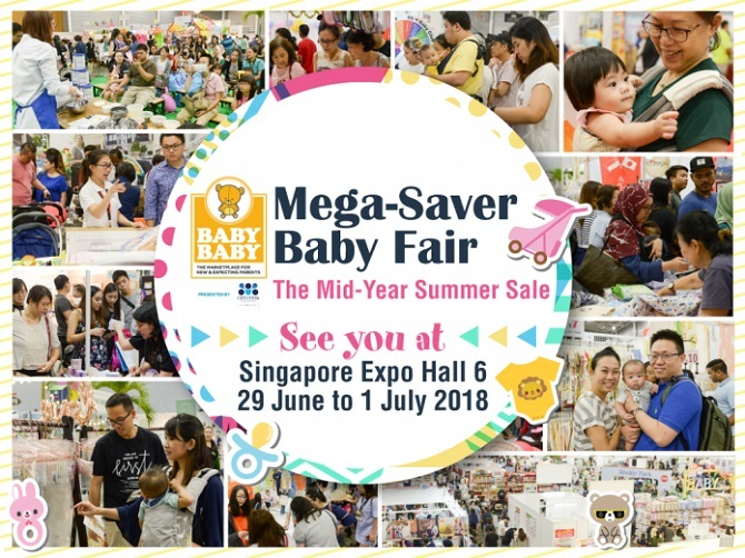 baby fairs in singapore 2018