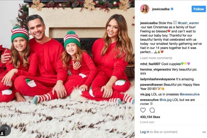 src=https://sg.theasianparent.com/wp content/uploads/2018/01/alba family.jpg Actress Jessica Alba gives birth to baby boy on New Years Eve