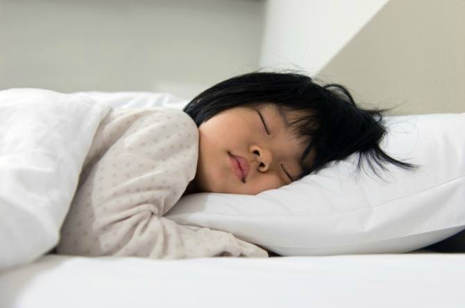 sleeping hours for kids
