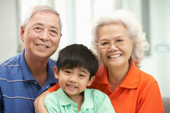 grandparent child care can be harmful