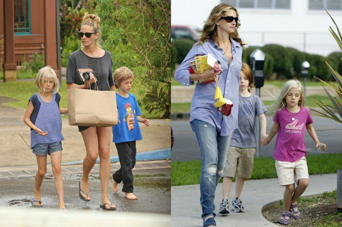 "julia roberts 2 ""The Kids Can Talk About Anything To Me"": Julia Roberts Parenting"