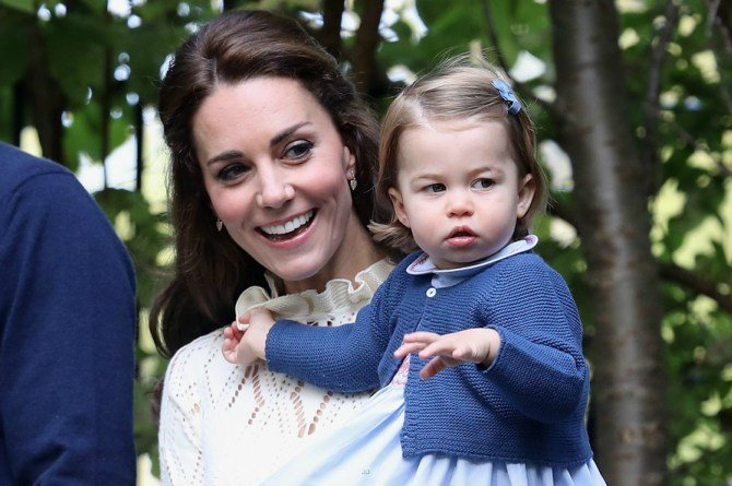 kate charlotte Why do you rarely see Prince William carrying Princess Charlotte in public?