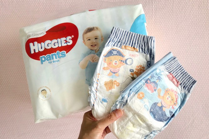 Huggies Platinum Pants