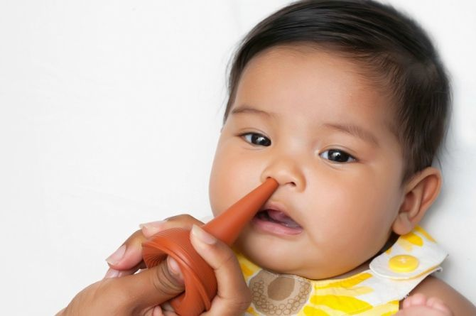 home remedy for baby blocked nose