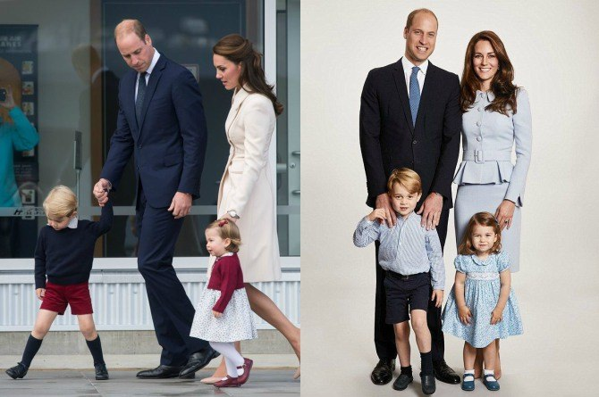 royal fam 2 Why do you rarely see Prince William carrying Princess Charlotte in public?