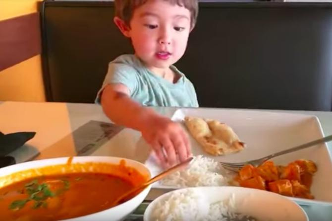 introducing spicy food