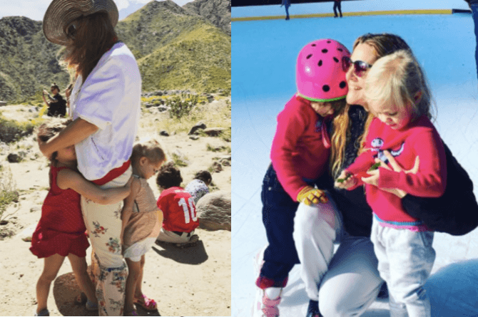 drew barrymore parenting