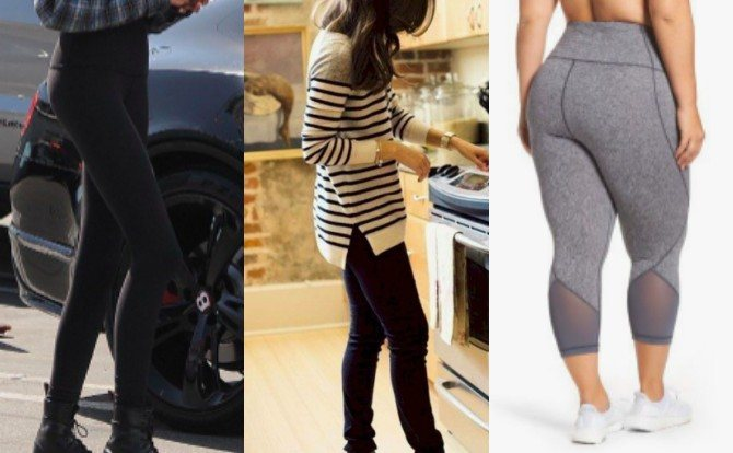 leggings 13 fashion mistakes mums make