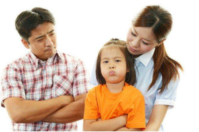dad and mum discipline