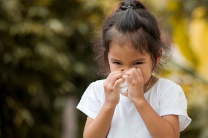 infection from nose picking