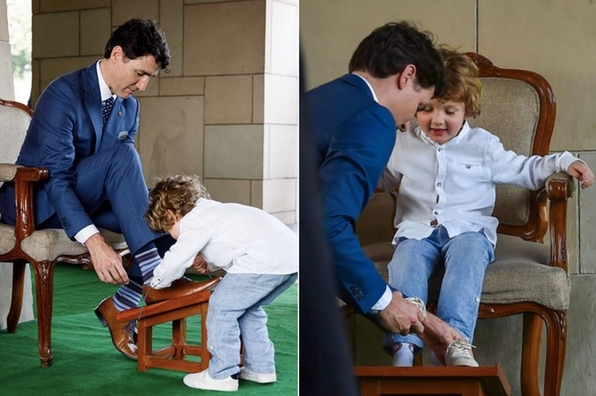 Justin Trudeaus son Hadrien copy 2 Justin Trudeau's son Hadrien spent a week in India taking hilarious pictures