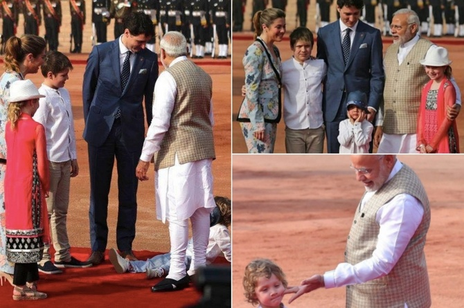 Justin Trudeaus son Hadrien copy 4 Justin Trudeau's son Hadrien spent a week in India taking hilarious pictures