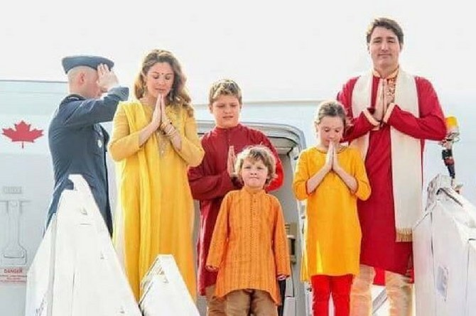 Justin Trudeaus son Hadrien copy A Justin Trudeau's son Hadrien spent a week in India taking hilarious pictures
