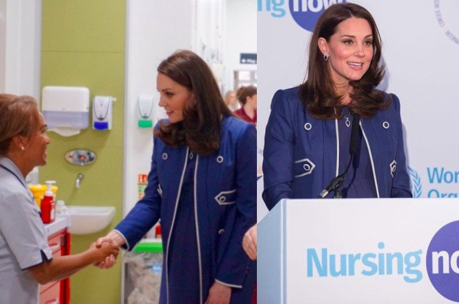 kate middleton's midwife