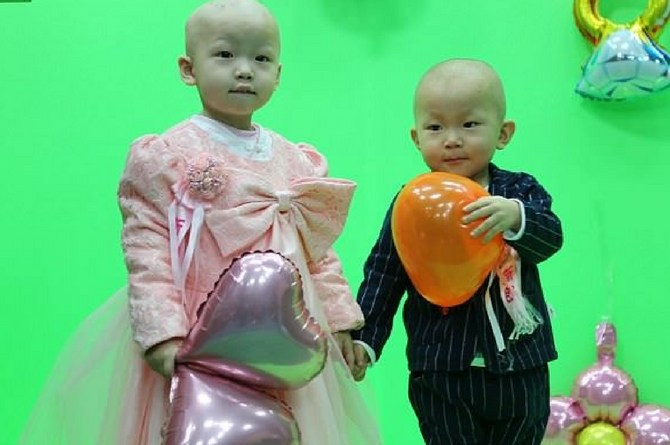 toddlers with leukemia