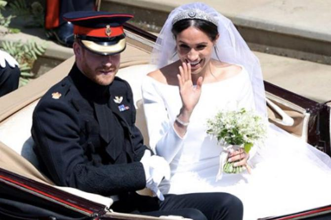 19 Unforgettable heartwarming moments from the Royal Wedding