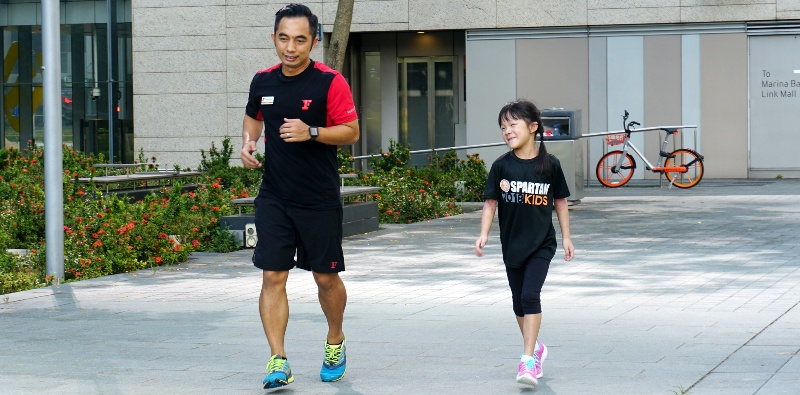 workout for daddy and kids