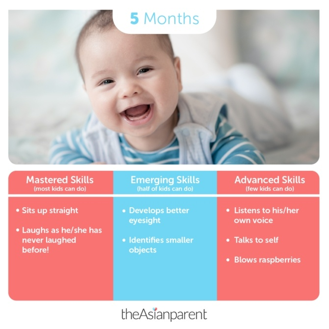 5 Month Old Baby Development And Milestones: What You
