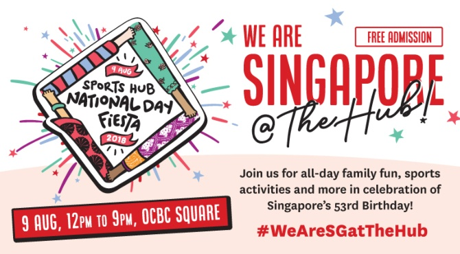 National Day 2018 in Singapore