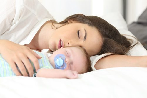 baby suffocated by mother