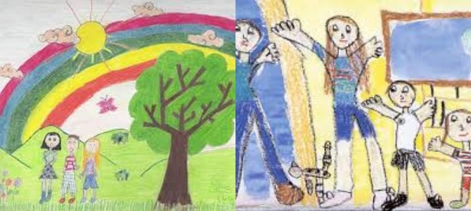 3rdstage The hidden meanings in children's drawings you never knew about