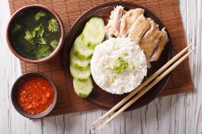 how to make hainanese chicken rice