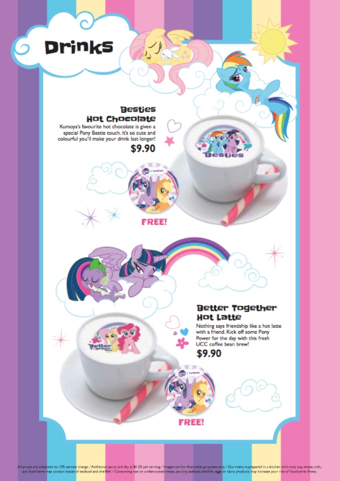 my little pony cafe in singapore