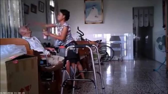 abuse of elderly by maids