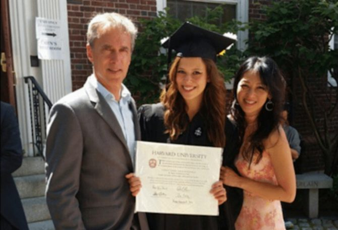 harvardcert sophia 1 How to study like a Harvard student: Tips by Amy Chua's daughter