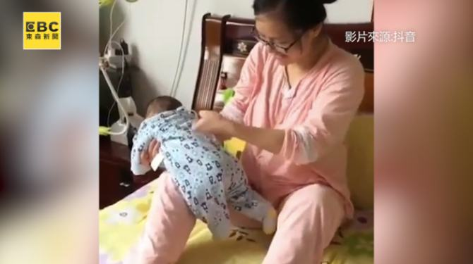 cute baby movement