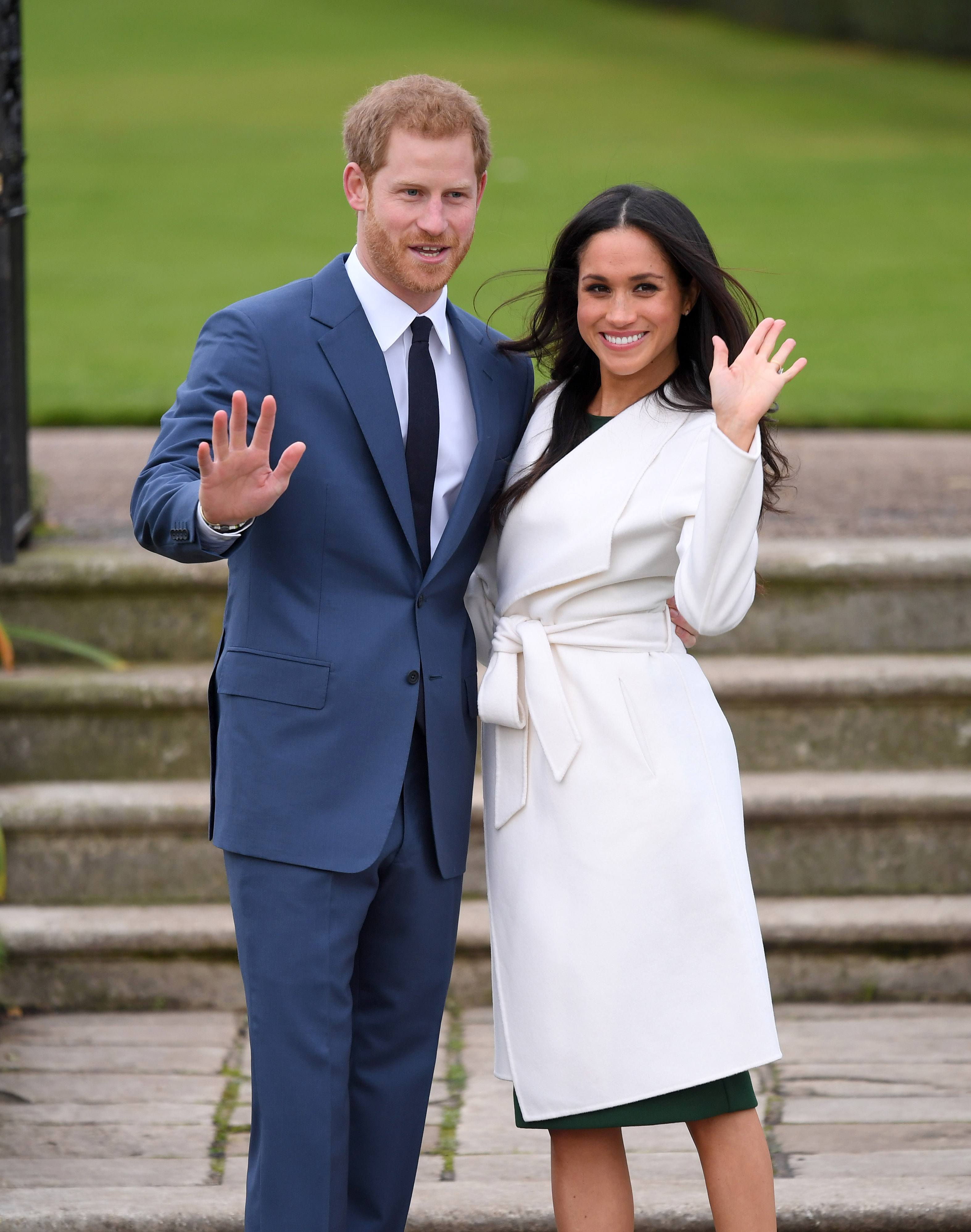 meghan markle the line coat engagement Duchess of Sussex, Meghan Markle is PREGNANT! The Royal Baby is due early next year