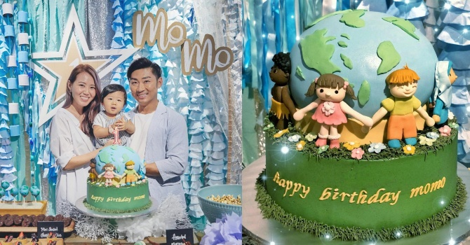 momo birthday Local singers Tay Kewei and Alfred Sim celebrate their son's first birthday with eco themed party