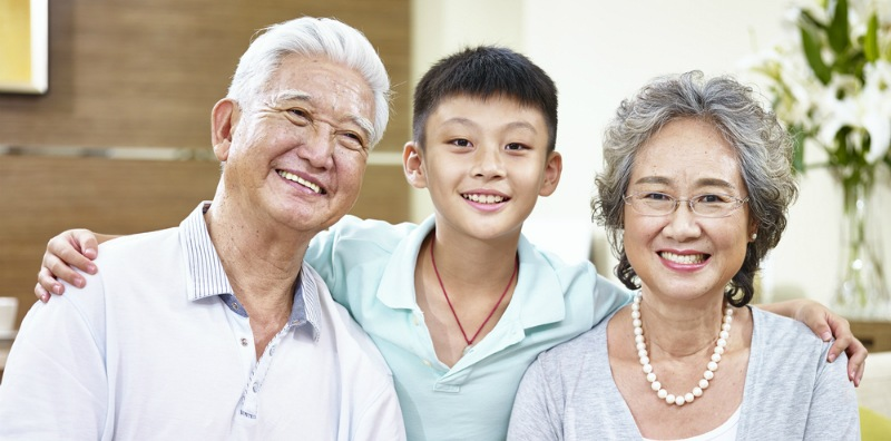 growing up with grandparents