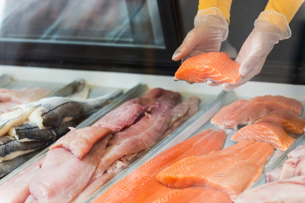 Fish market - worst foods during pregnancy