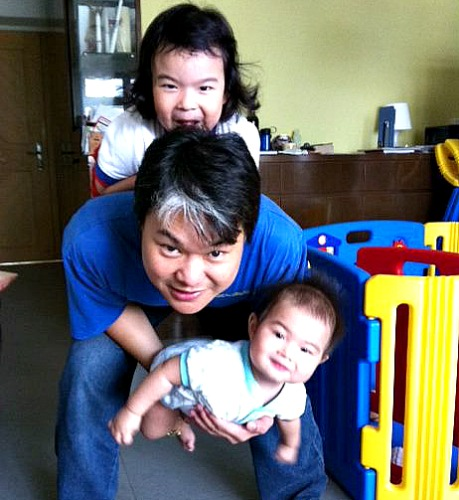 Sam Chow - The dad who is also a godfather