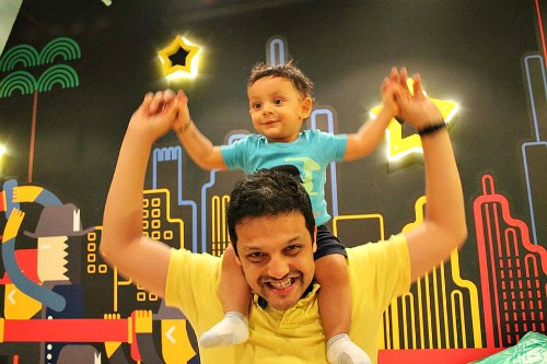 Sourabh Sharma - The entrepreneurial dad who's trying to change the world