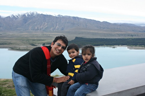 Vinay Asdhir - The dad of multiples who adores his 3-year-old twins