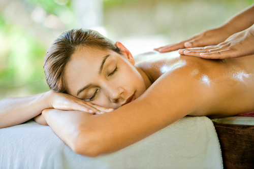 6. Massage your tension away