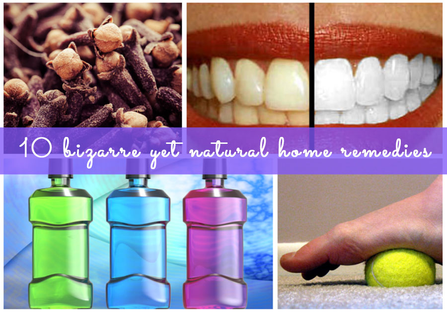 Click next to check out 10 bizarre yet natural home remedies..