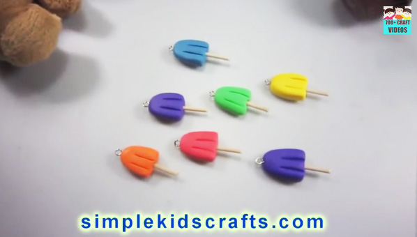 Popsicle charms