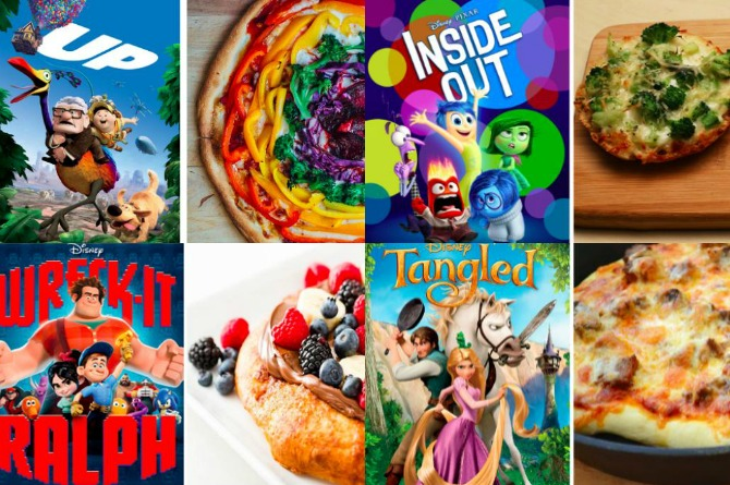 10 Disney-inspired pizza recipes that are perfect for family movie night