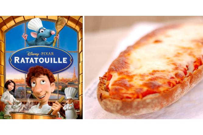Cheesy Baguette Pizza with Ratatouille