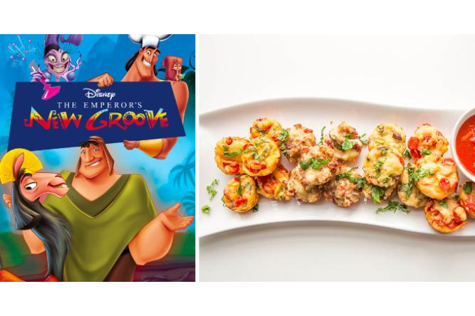 Pizza Puffs with The Emperor's New Groove