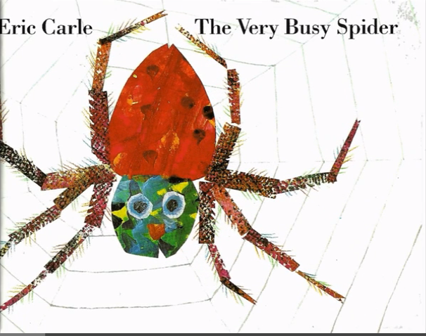 4. The Very Busy Spider (1989) by Eric Carle