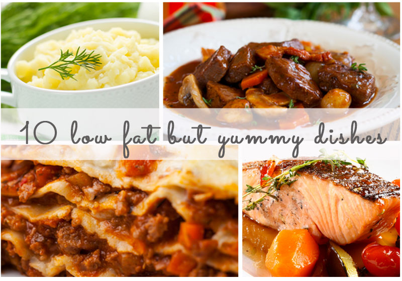 Click next to check out all our low fat dishes...